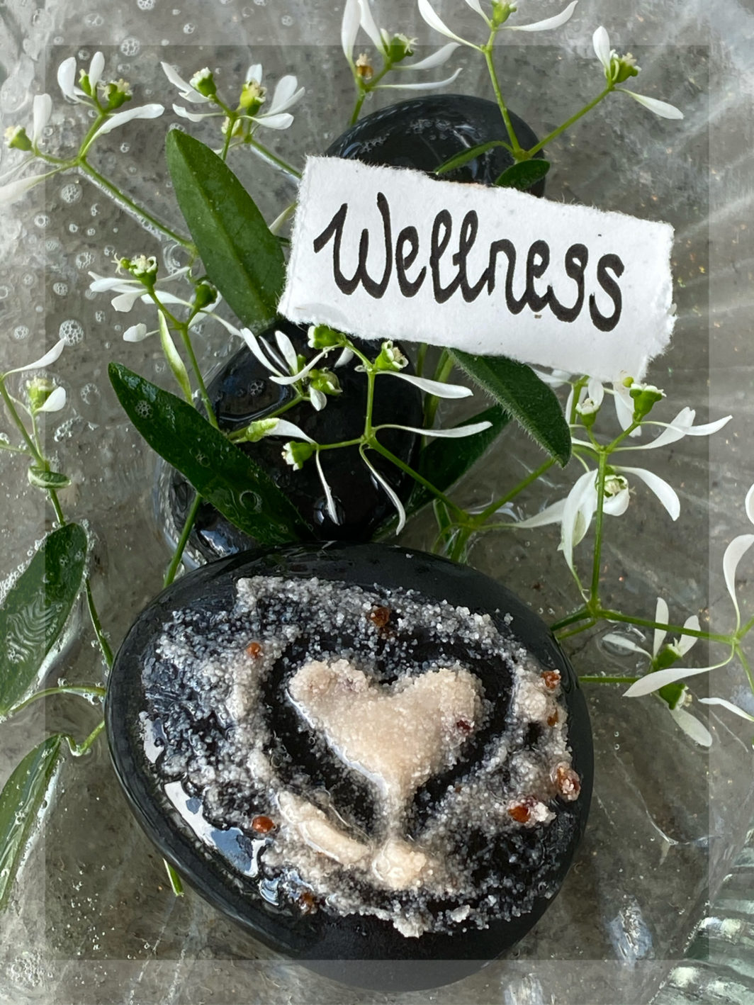 Mit warmem Massageöl und Dampfkompresse